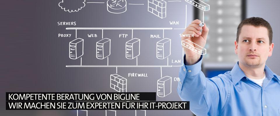 Kompetente Beratung von Bigline Wir machen Sie zum Experten für Ihr IT-Projekt